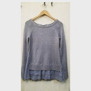 Lauren Conrad pretty blue sweater